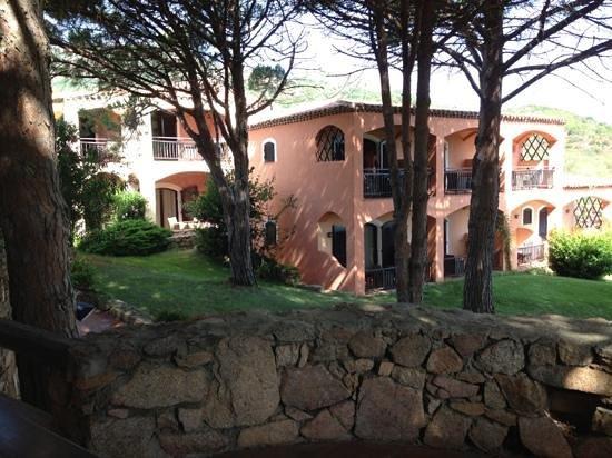 Hotel Le Ginestre: Blick aus dem Frühstücksraum