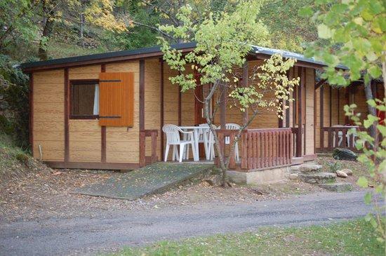 Camping Boltana : Nuestro bungalow