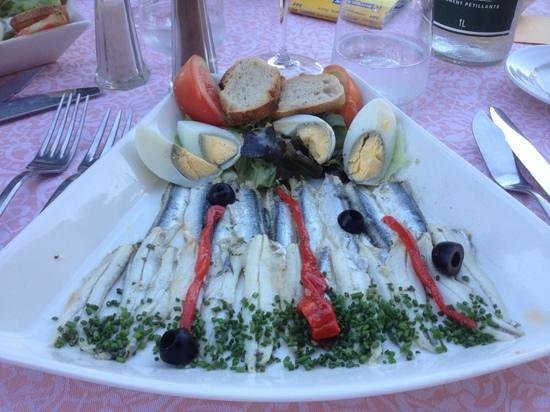 Le Lido : Enchois de Collioure