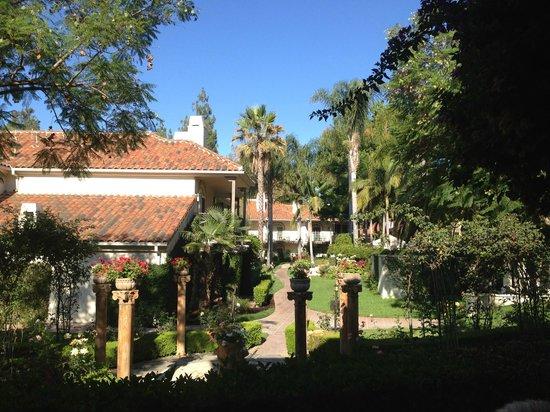 Westlake Village Inn: From room in the Capri building