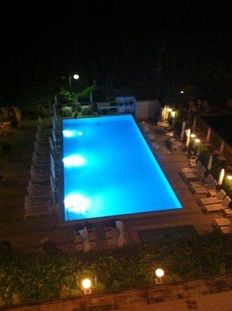 Oxford: Pool am Abend