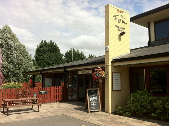Restaurant Review g d Reviews The Fox Bar Hill Cambridgeshire England.