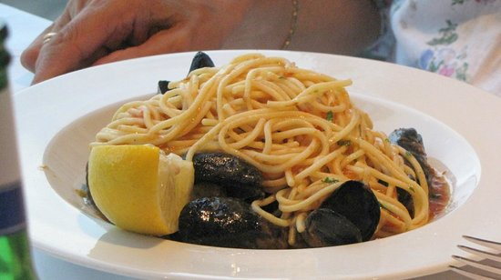 The Boatyard Restaurant : Boatyard. A main on the £12.95 two course menu.