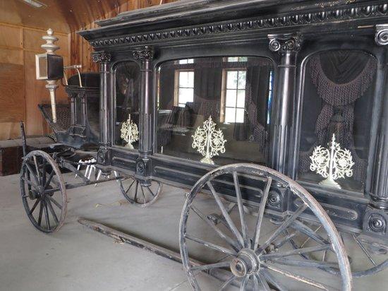 Bonanzaville USA: Horse-drawn hearse
