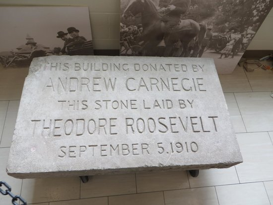 Bonanzaville USA: Cornerstone placed by President Theodore Roosevelt