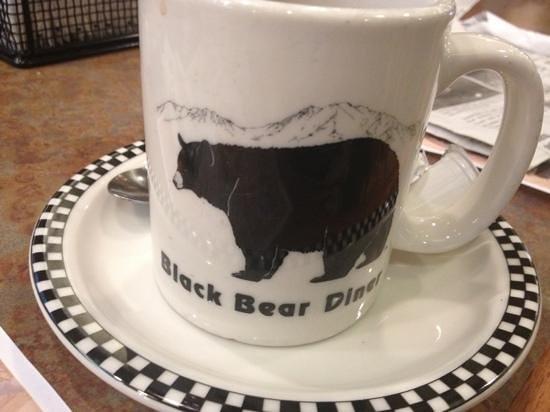 Black Bear Diner : bears everywhere !