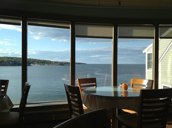 Brackett's Oceanview Restaurant: The view from our table ...
