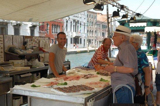 Ca' Fontanea: the Guglie again, fish market