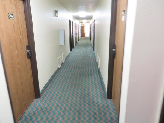 Super 8 Moorhead: A bit of a smell in the hallways, recently declared a non-smoking hotel