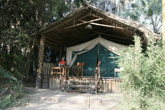 Kisima Ngeda Tented Camp: Front of our tent