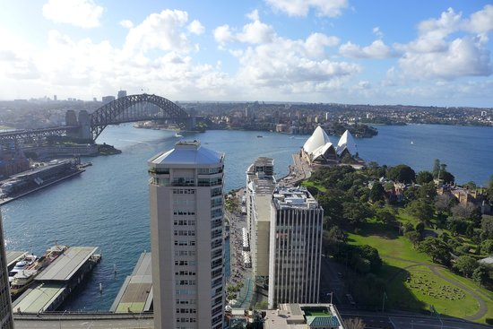 InterContinental Sydney: View from Club Intercontinental