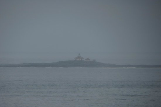 Land Bridge to Bar Island: Lighthouse