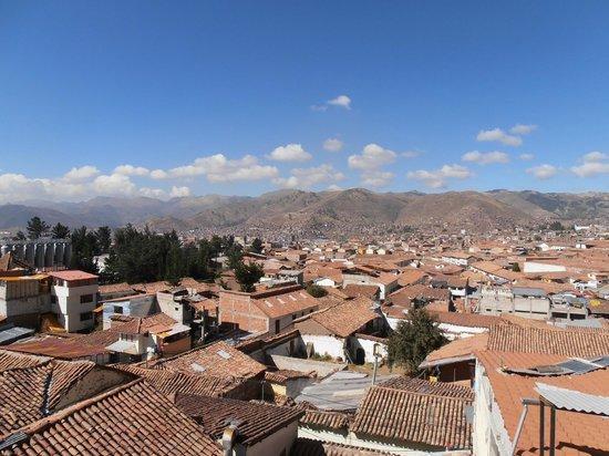 Casa Andina Standard Cusco San Blas: View from room over Cuzco