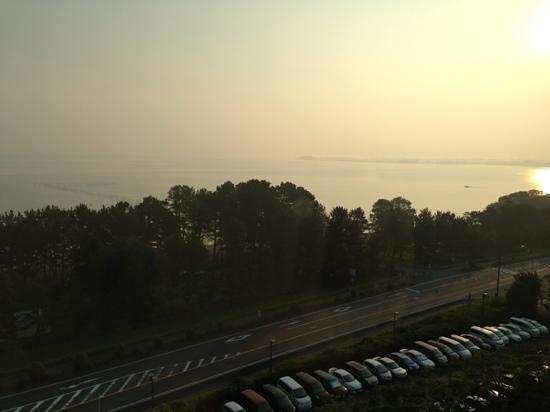 Lake Biwa Marriott Hotel: 部屋からの眺め