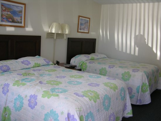 Seaside Colony Motel: room beds