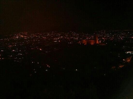 Paradiso di Lettere: panorama di sera