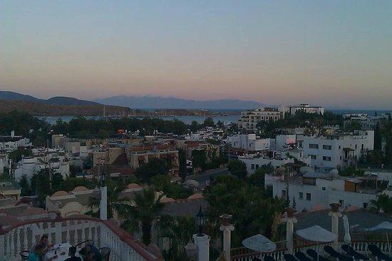 Palm Garden Hotel: Gumbet view