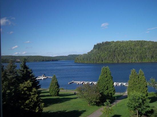 Auberge du Lac-a-l'Eau-Claire : Vue de notre chambre