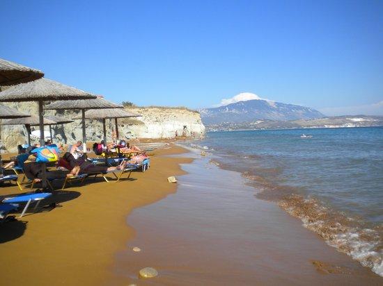 Cephalonia Palace Hotel: the beach