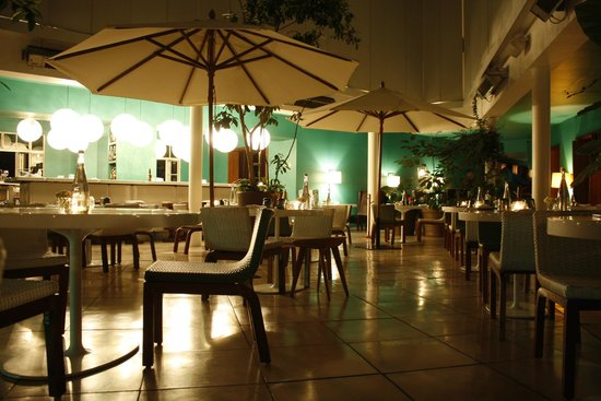 Condesa DF: Downstairs Restaurant
