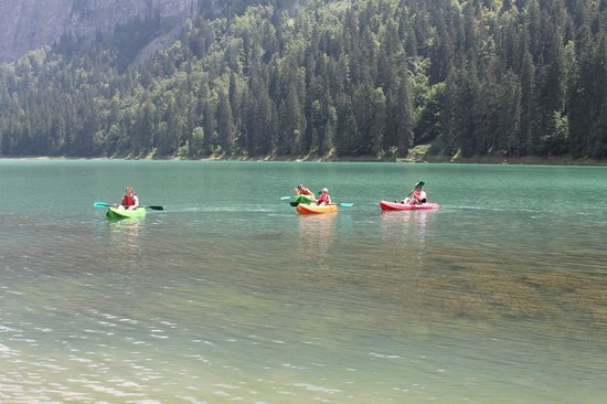 Simply Morzine - Chalet des Montagnes : kayaking high in the alps