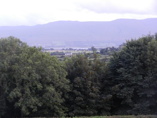 Ballyroe Heights Hotel: view from room