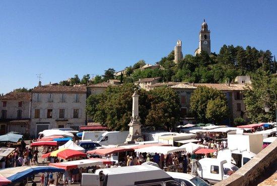 Auberge de Reillanne : Market Day