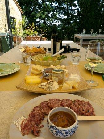 Fattoria Corzano e Paterno: lunch