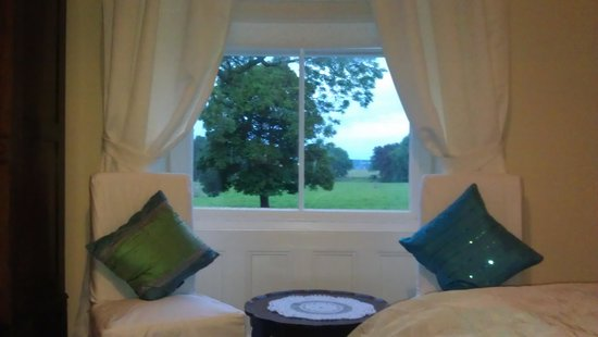 Stamford Farmhouse: view from superior double window