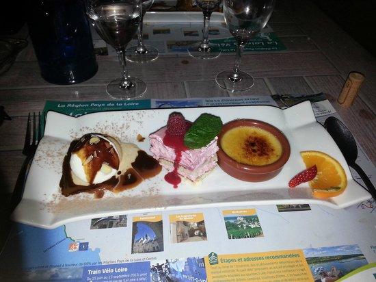 Hotel au Poisson d'Argent: dessert