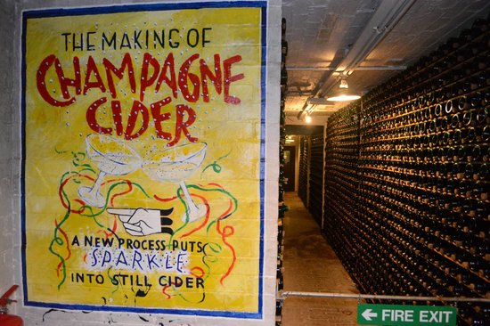 Hereford Cider Museum: The bottle store