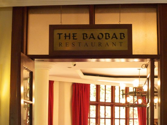 The African Tulip : The Baobab restaurant -entrance