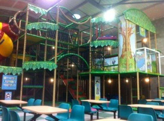 Chuckles: Main play area
