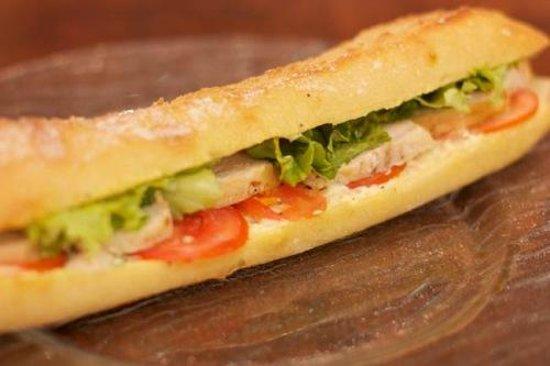 SOS Poulet & SOS Pecheur: sandwich poulet