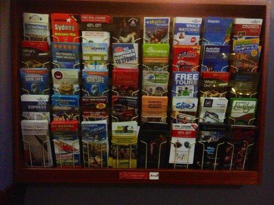 Hotel Coronation: Brochures