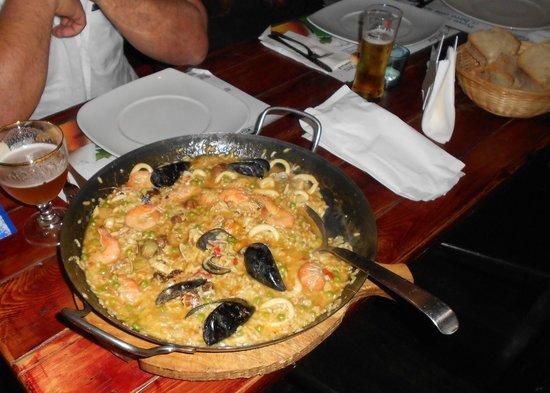 Puerto Nuevo : paella