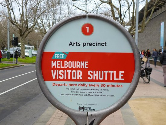 Melbourne Visitor Shuttle: Stop 1