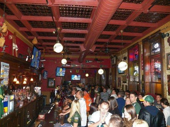 Upper 90 Sports Pub: Packer Game at the Pub