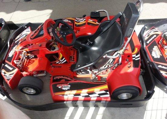 Karting Experience Fuengirola: A gokart, close-up