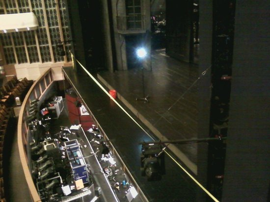 The Smith Center: Orchestra Pit and Stage