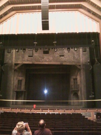 The Smith Center: Floor Seating to Stage
