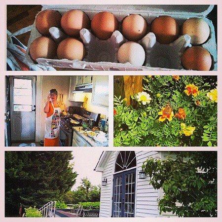 Le Bleu Ridge Bed and Breakfast: Locally sourced products being used at this B&B