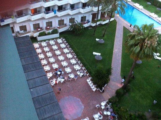 Bajondillo Apartments: room from balcony