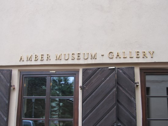 Amber Museum-Gallery (Gintaro Muziejus-Galerija): frente