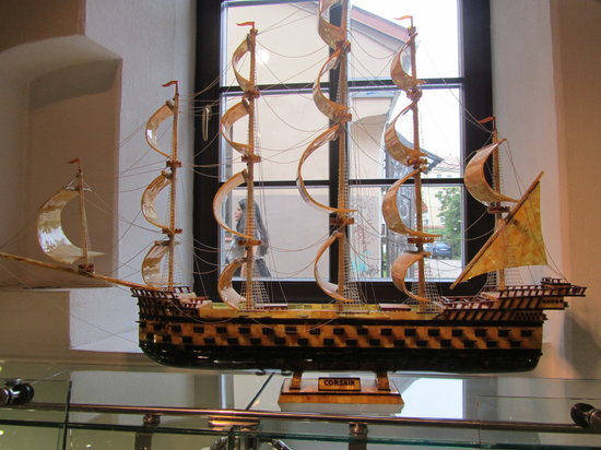 Amber Museum-Gallery (Gintaro Muziejus-Galerija): exposicion