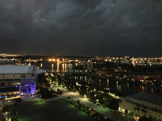 Embassy Suites by Hilton Tampa - Downtown Convention Center: View from my room