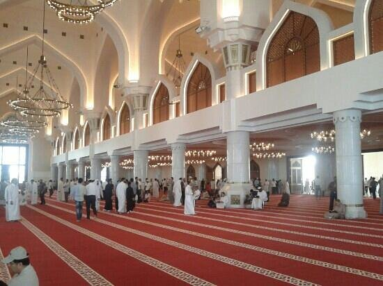 State Grand Mosque: inside nice looking
