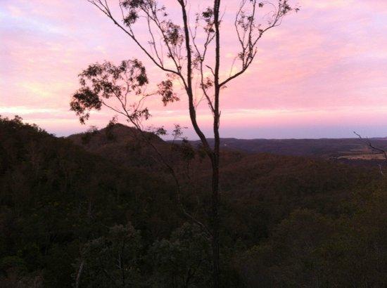 ecoRidge Hideaway: Sunset