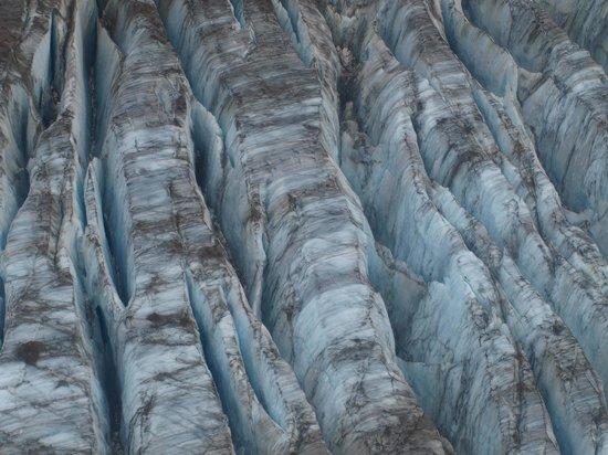 Talon Air Service: Glacier pic from the plane