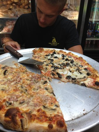 "The Italian Deli & Market: 16"" pizza"